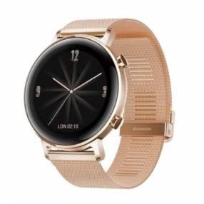Reloj huawei gt 2 42mm rose gold milanese strap