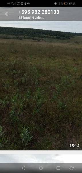 Terreno de 90 hectáreas