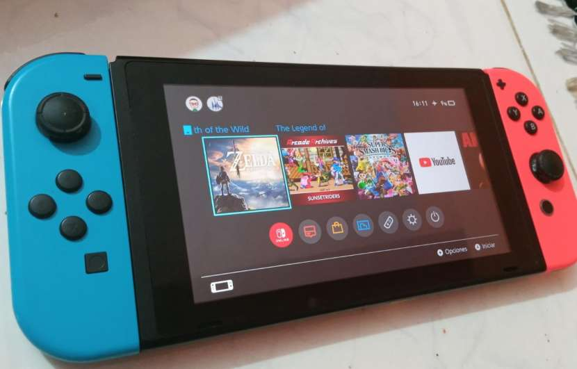 Nintendo Switch impecable - 3
