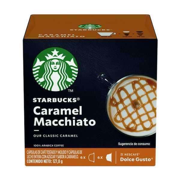 Café Starbucks Caramel Macchiato - 12 Capsulas - 1