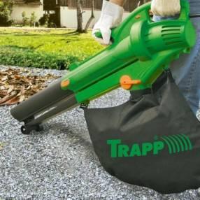 Aspirador de hojas trapp sf3000 c/ bolsa 32l