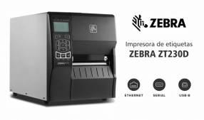 Impresora de etiquetas Zebra ZT230D