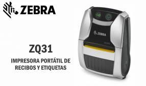 Impresora Portátil Zebra ZQ31