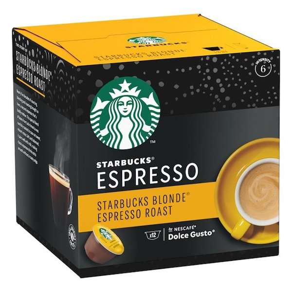 Café Starbucks Espresso - 12 Capsulas - 0