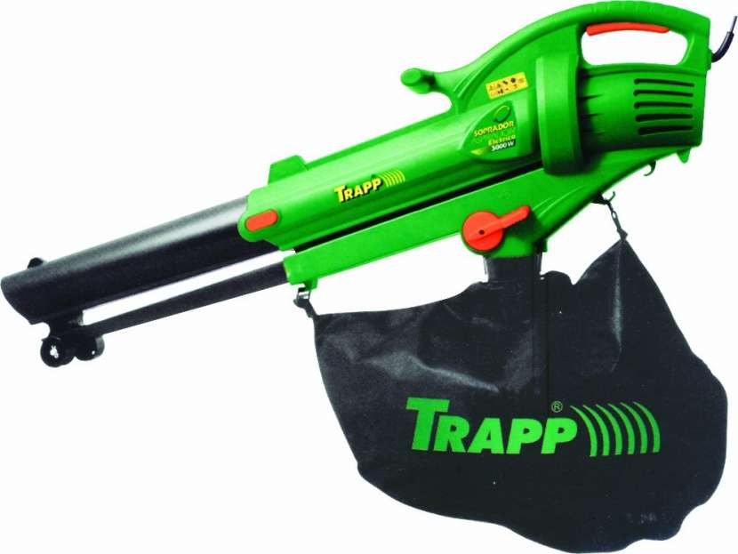 Aspirador de hojas trapp sf3000 c/ bolsa 32l - 1