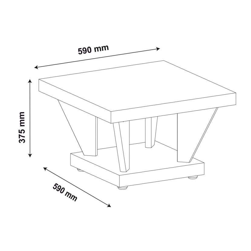 Mesa centro holanda artely movel - 1