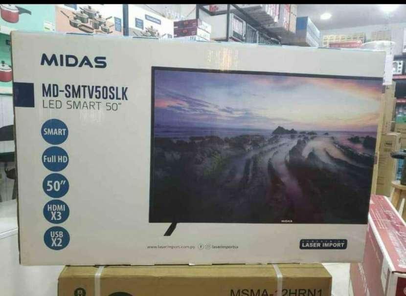 Smart TV Midas 50 pulgadas FHD - 0