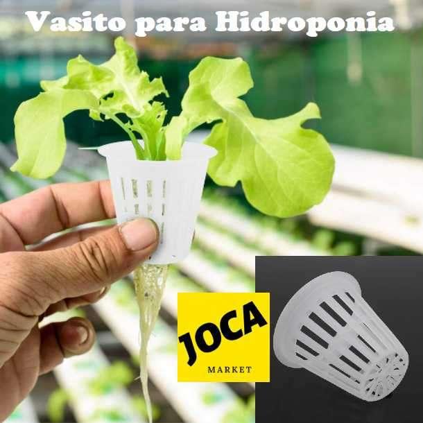 Vaso de plástico para sistema hidropónico - 0