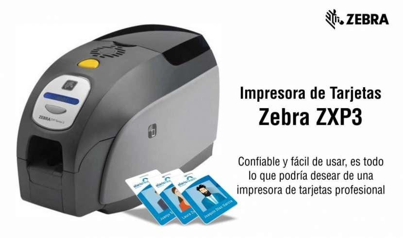 Impresora de tarjetas Zebra ZXP3 - 0