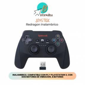 Joystick inalámbrico para PlayStation 3 y PC Redragon