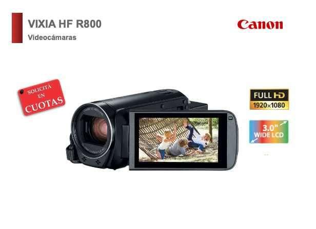 Filmadora Canon Vixia HF R800 - 0