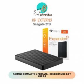 Disco duro externo 2TB Seagate