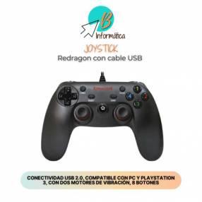 Joystick para PlayStation 3 y PC Redragon