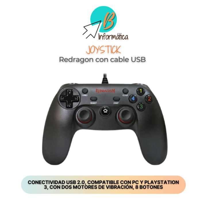 Joystick para PlayStation 3 y PC Redragon - 0