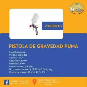 Pistola de gravedad Puma