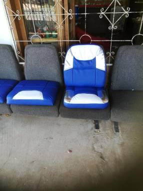 Reparación de asientos de lanchas