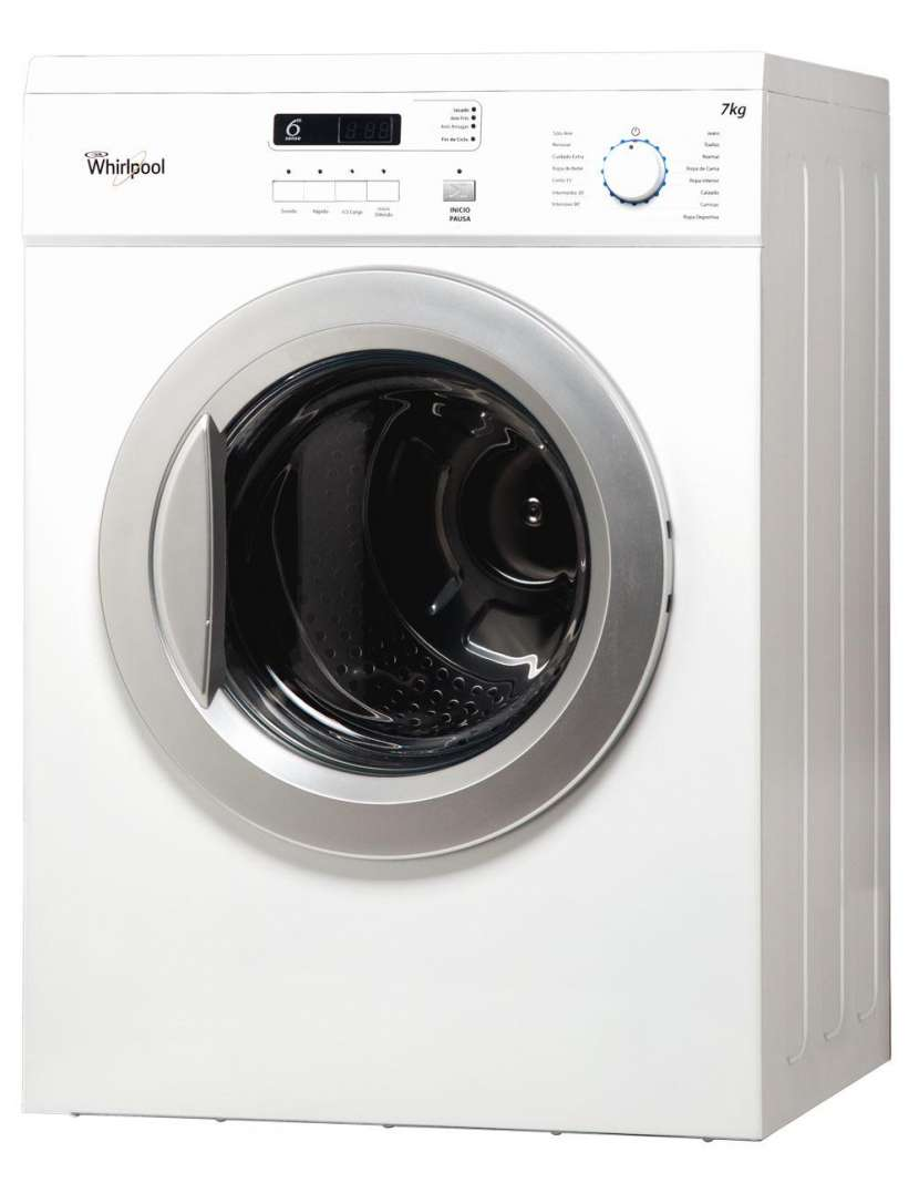 Secarropas Whirlpool 7 Kg WSR07SB - 1