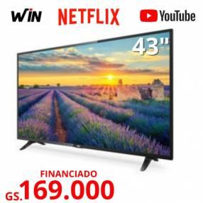 Smart TV WIN de 43 pulgadas FHD