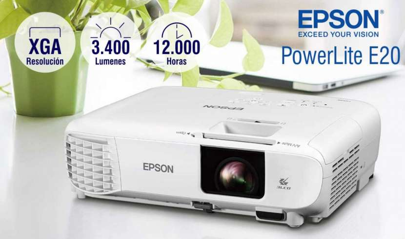 Proyector Epson PowerLite E20 - 0