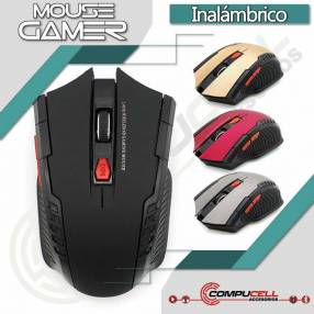 Mouse gamer con DPI ajustable