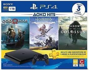 PlayStation 4 de 1 TB 4 juegos y 1 control