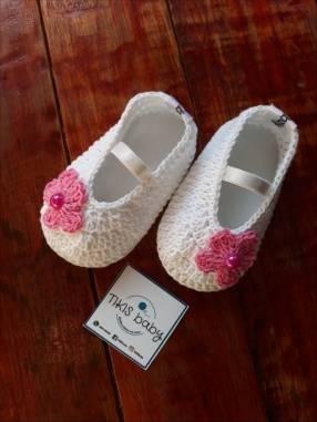 Zapatitos a crochet para bebé