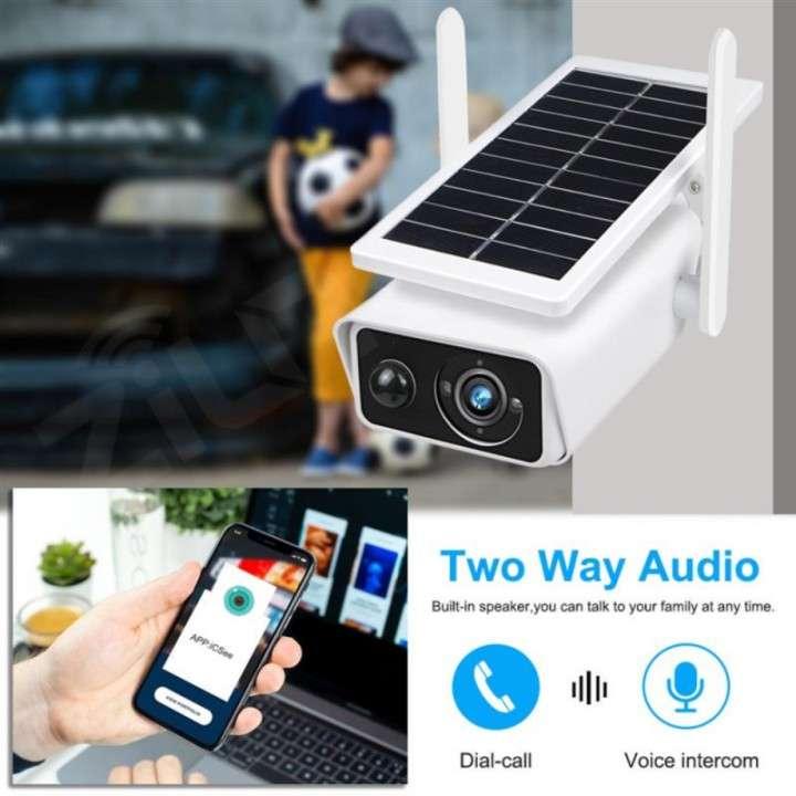 Cámara solar IP 1080p IP66 con sensor de movimiento - 2
