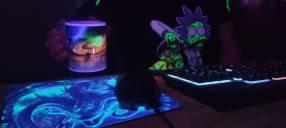 Combo gamer fluor