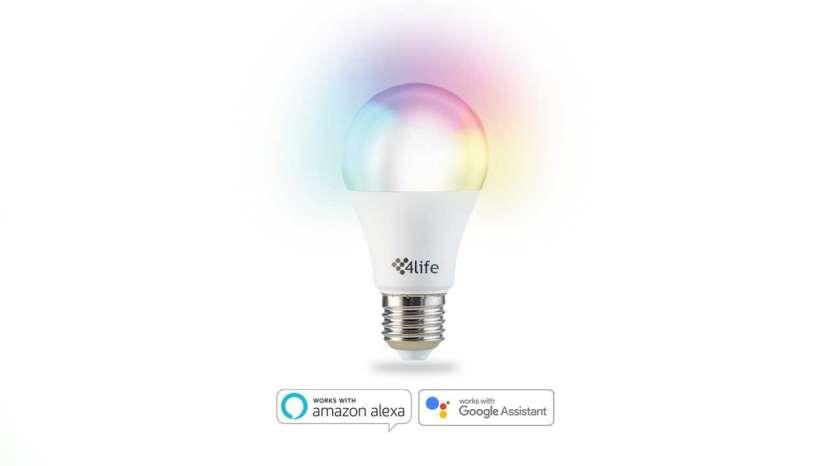 Lámpara inteligente RGB 4life Chroma A65 11W - 0