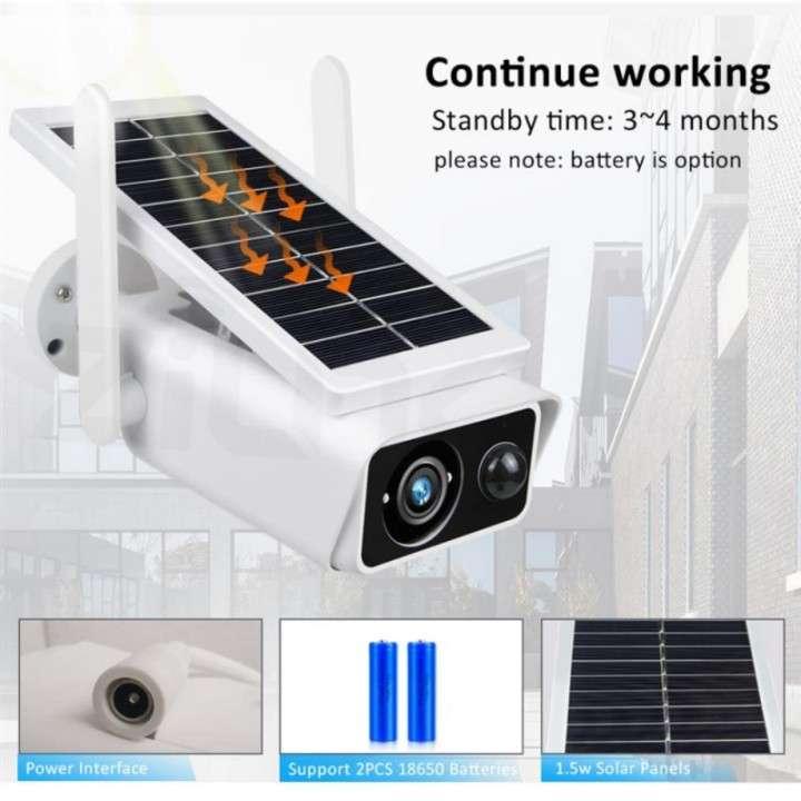 Cámara solar IP 1080p IP66 con sensor de movimiento - 5