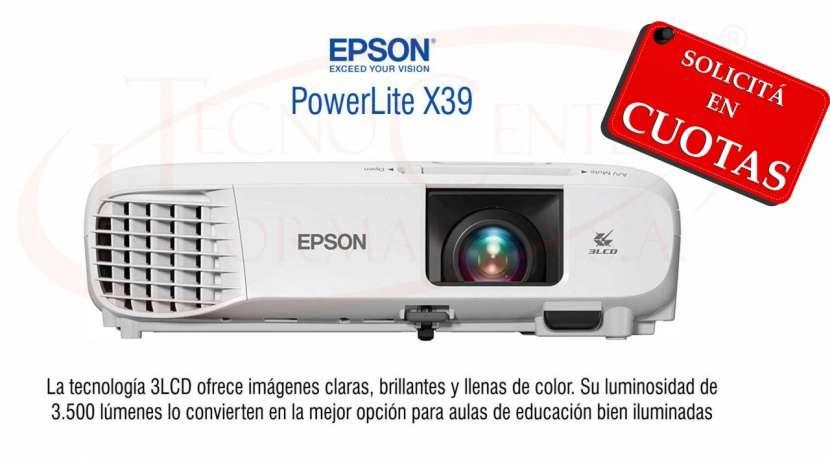 Proyector Epson PowerLite X39 3.500 lúmenes - 0