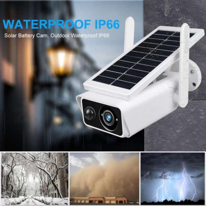 Cámara solar IP 1080p IP66 con sensor de movimiento - 4