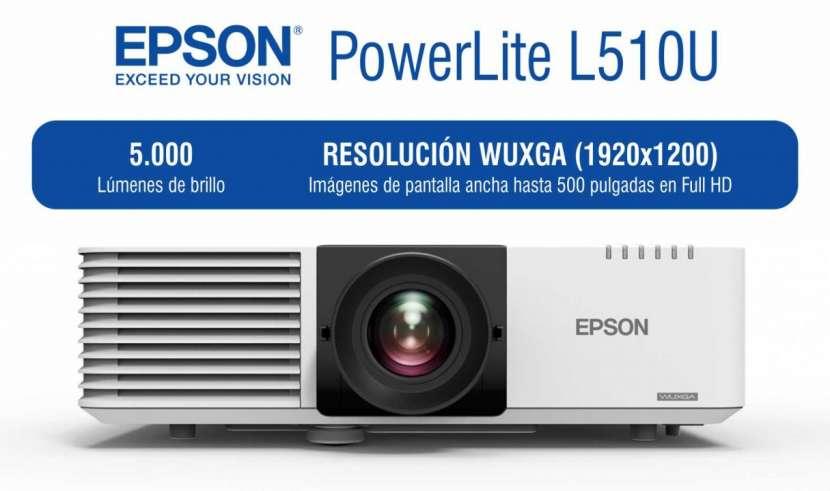 Proyector Epson PowerLite L510U 5.000 lúmenes - 0