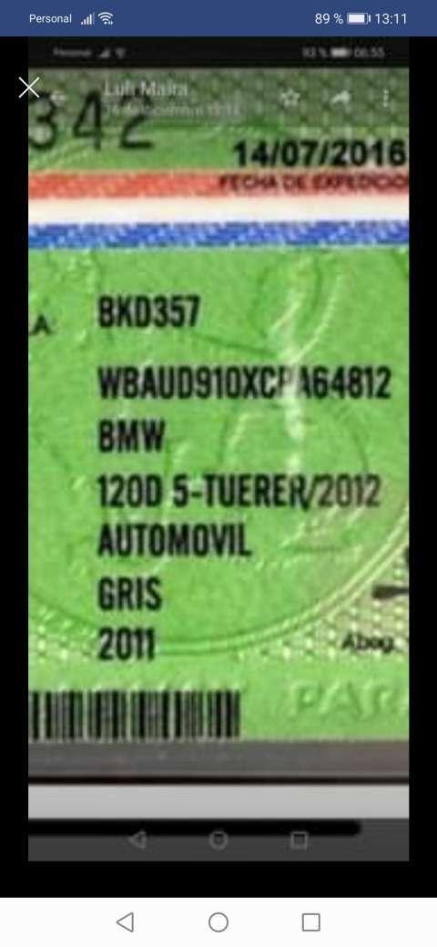 BMW 120 D5 Tuerer 2012 - 7
