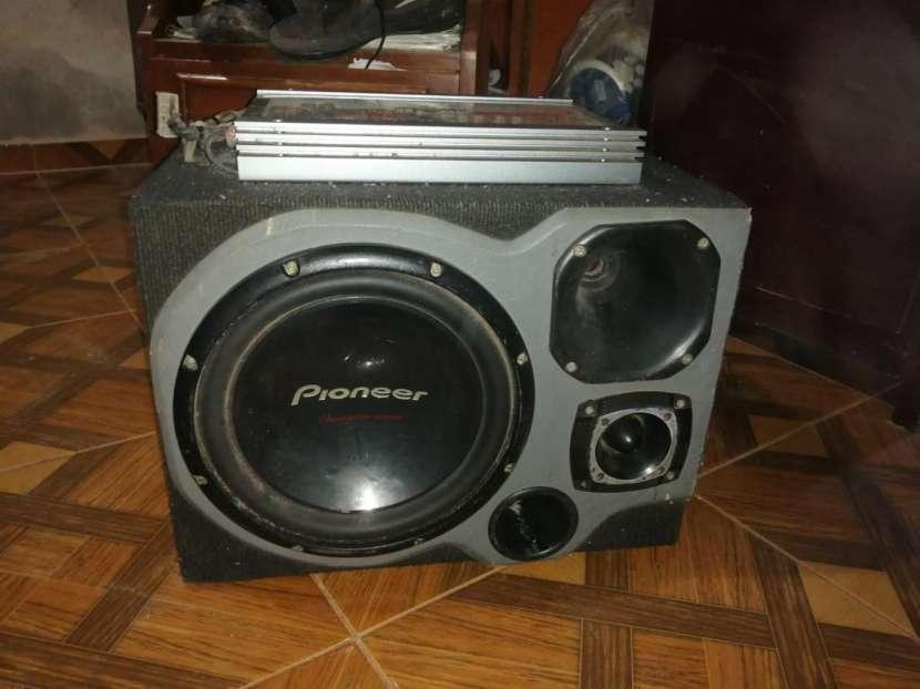 Amplificador Pioneer 600W - 0