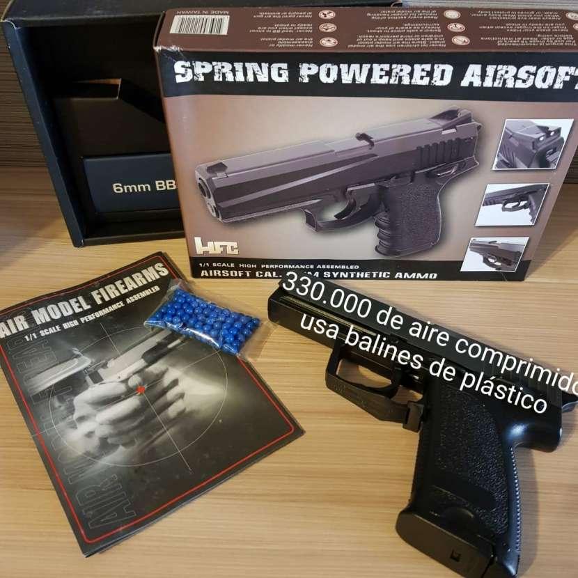 Pistola con balines de plástico 6mm - 0