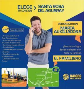 Terreno en Santa del Aguaray