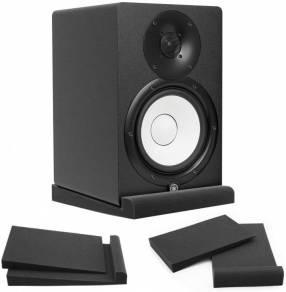Espuma acústica base para monitores de audio