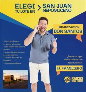 Terreno en San Juan Nepomuceno