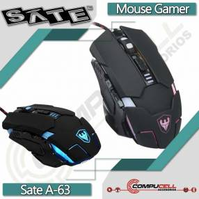 Mouse gamer USB SATE A-63