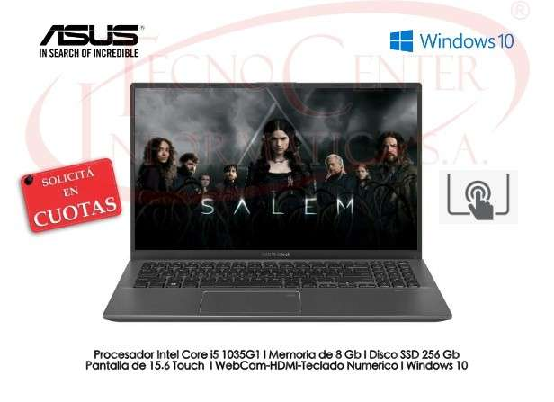 Notebook Asus i5 Touch SSD 256 GB - 0