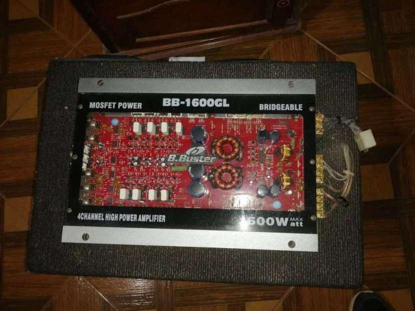 Amplificador Pioneer 600W - 1