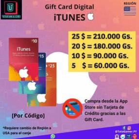 Gift Card iTunes USA