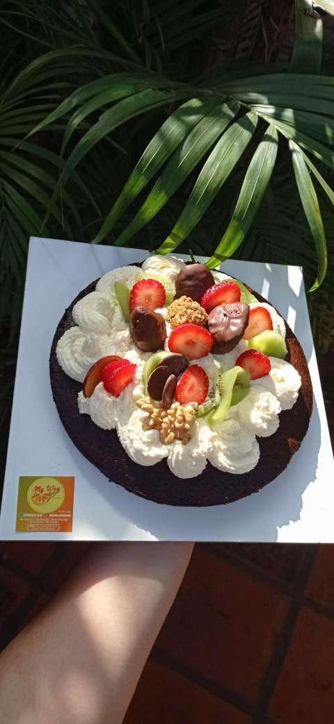 Torta de cumple apta para diabéticos - 0