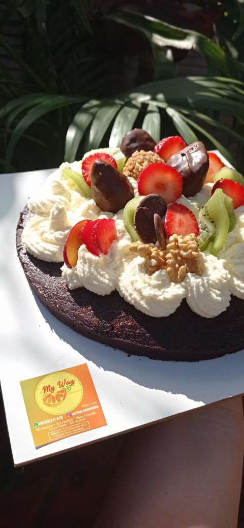 Torta de cumple apta para diabéticos - 1