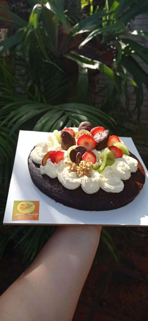 Torta de cumple apta para diabéticos - 2
