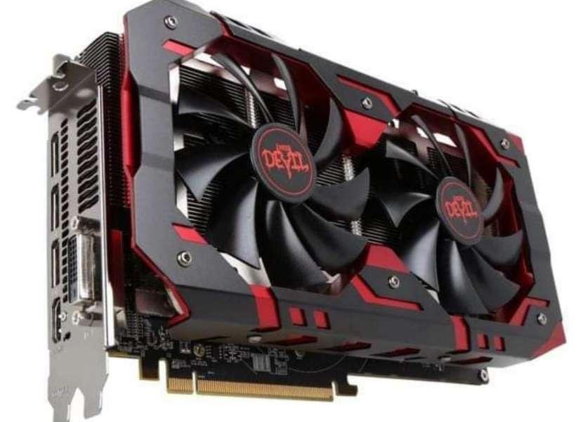 Rx 580 power color - 0