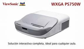 Proyector Interactivo ViewSonic PS750W 3300 lúmenes