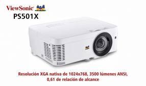 Proyector Tiro Corto ViewSonic PS501x 3500 lúmenes