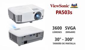 Proyector ViewSonic PA503s 3600 lúmenes
